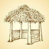 Alcove. Vector drawing Stock Photos