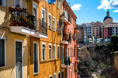 Alcoy city Stock Image