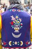 Alcoy Spanien - April 22, 2016: Folk som kläs som kristen legio arkivbilder