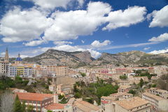 Alcoy. View of city of Alcoy, Spain Royalty Free Stock Photo