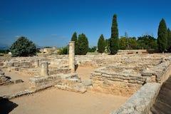 Alcudia废墟  库存图片