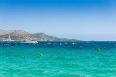 Alcudia海湾  库存图片