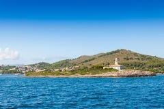 Alcudia海湾  库存照片