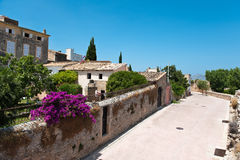 Alcudia. Part of the old town in Alcudia in Spain Stock Images