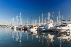 Alcudia港  免版税图库摄影