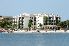 Alcudia Bay and beach Royalty Free Stock Image
