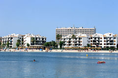 Alcudia Bay and beach Royalty Free Stock Images