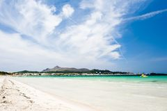 Alcudia beach Royalty Free Stock Photos