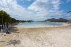 Alcudia beach, Mallorca, Balearic islands, Spain Stock Photo