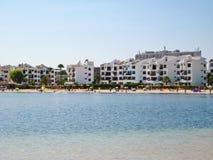Alcudia beach panorama, Majorca Royalty Free Stock Photography