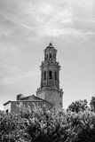 The Alcudia bell tower Royalty Free Stock Images