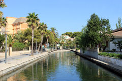 Alcudia canal Stock Photo