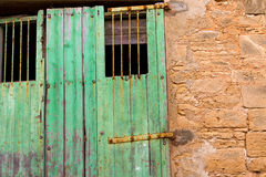 Alcudia gammal stad i Majorca Balearic Mallorca Royaltyfri Fotografi