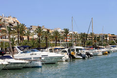 Alcudia harbor Majorca Royalty Free Stock Photo