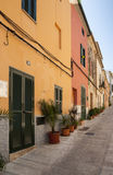Alcudia houses Stock Image