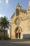 Alcudia, Majorca Espagne Église d'Alcudia photographie stock libre de droits