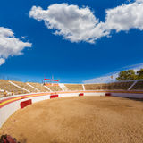 Alcudia Mallorca bullring in Balearic islands Royalty Free Stock Photos