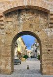 Alcudia Medieval Gate Royalty Free Stock Photography