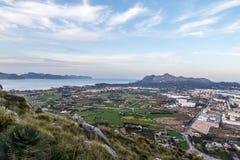 Alcudia och La Victoria Royaltyfri Fotografi