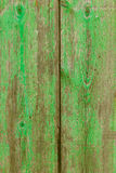 Alcudia Old Town aged green door wood texture Royalty Free Stock Photography