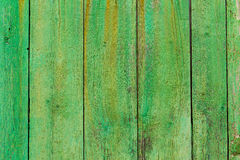 Alcudia Old Town aged green door wood texture Stock Photo