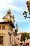 Alcudia Old Town city town hall Majorca Mallorca Stock Photos