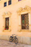 Alcudia Old Town city town hall Majorca Mallorca Royalty Free Stock Photography