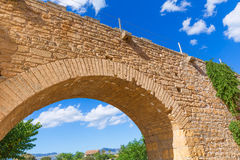 Alcudia Old Town fortres wall in Majorca Mallorca Stock Images