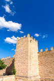 Alcudia Old Town fortres wall in Majorca Mallorca Royalty Free Stock Photos