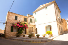 Alcudia Old Town in island Majorca, Spain 28.06.2017. Royalty Free Stock Image
