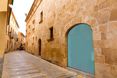 Alcudia Old Town in Majorca Mallorca Balearic Stock Photography