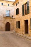 Alcudia Old Town in Majorca Mallorca Balearic Stock Image