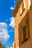 Alcudia Old Town in Majorca Mallorca Balearic Royalty Free Stock Photo