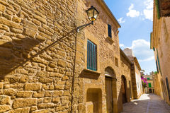 Alcudia Old Town in Majorca Mallorca Balearic Stock Photo