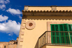 Alcudia Old Town in Majorca Mallorca Balearic Royalty Free Stock Photography