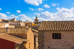 Alcudia Old Town in Majorca Mallorca Balearic Royalty Free Stock Images