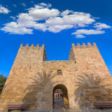 Alcudia Old Town Majorca Porta des Moll Mallorca Royalty Free Stock Image