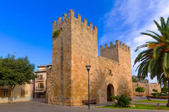 Alcudia Old Town Majorca Porta des Moll Mallorca Royalty Free Stock Photo