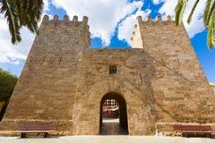 Alcudia Old Town Majorca Porta des Moll Mallorca Royalty Free Stock Photography