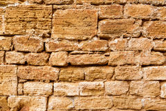 Alcudia Old Town masonry wall texture Mallorca Stock Images