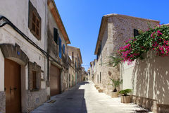 Alcudia Old Town Royalty Free Stock Images