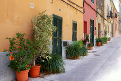 Alcudia Old Town Stock Photography