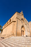 Alcudia Old Town Sant Jaume church in Majorca Royalty Free Stock Photography