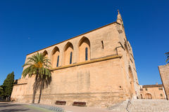 Alcudia Old Town Sant Jaume church in Majorca Royalty Free Stock Photos