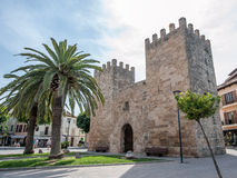 Alcudia Old Town Royalty Free Stock Photos