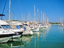 Alcudia port, Majorca Stock Photos