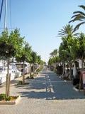 Alcudia port promenade, Majorca Stock Image