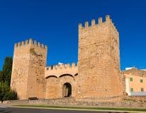 Alcudia Porta de Mallorca in Old town at Majorca Stock Image