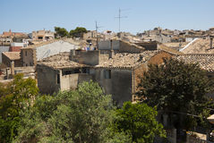 Alcudia roofs Stock Photography