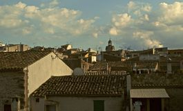 Alcudia skyline Royalty Free Stock Photo